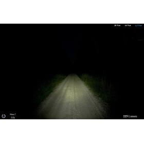 Lupine Wilma 7 - Lampe pour casque - noir